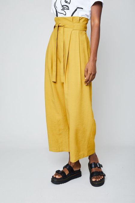 Native Youth The Rosie Pant - Mustard