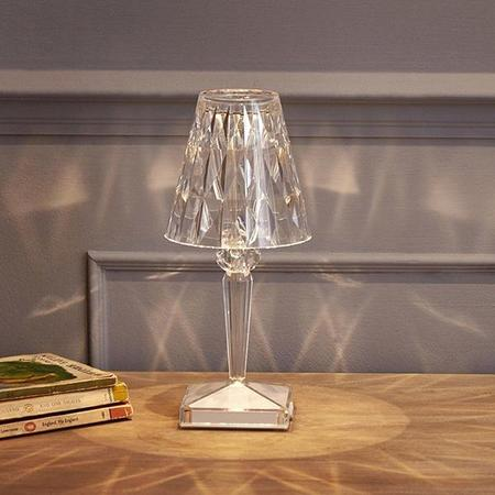 Diamond Dream Jewelry + Apparel Kartell Battery LED Table Lamp