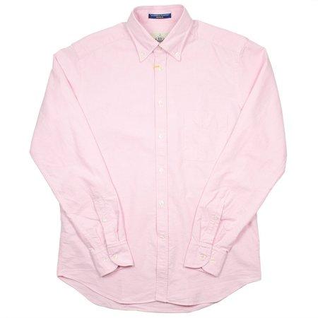 BD Baggies Bradfort BD Shirt With Pocket - Oxford Pink