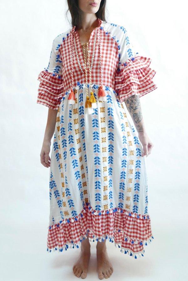 Dodo Bar Or Skirt.Dodo Bar Or Lola Dress Red On Garmentory