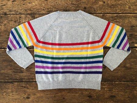 Jumper 1234 Cashmere Crew - Rainbow Grey
