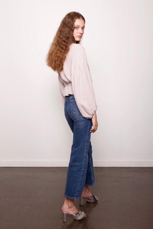 Dominique Healy Anna Blouse - Cotton Muslin