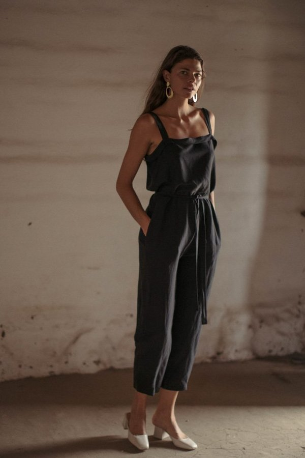 808b7f7d92 Ozma Light Silk Linen Alicante Jumpsuit. sold out
