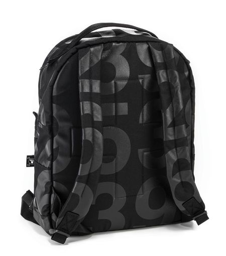 Kids Nununu Numbered Backpack - Black