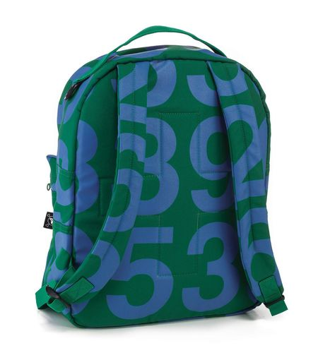 Kids Nununu Numbered Backpack - Green