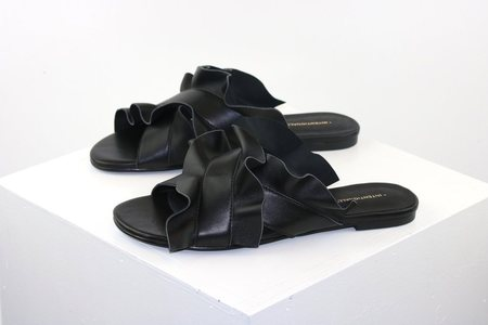 """INTENTIONALLY __________."" Cake Sandals"