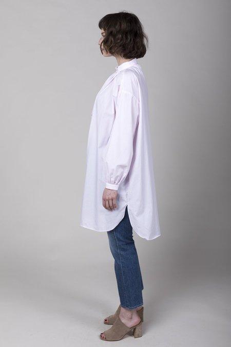 Gallego Desportes Long Cotton Poplin Shirt - Pink