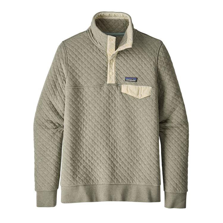 Patagonia Organic Cotton Quilt Snap T Pullover Celadon