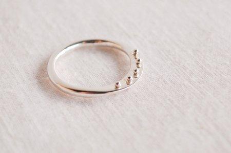 M. Hisae Maya Ring - Silver