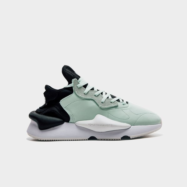 c78dad708 Adidas Y-3 Kaiwa Sneakers - Salty Green Core Black White