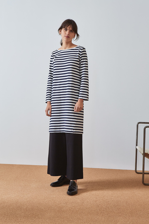 Kowtow Building Block Breton Dress