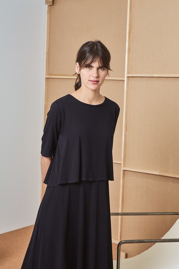 Kowtow Building Block Double Layer Dress