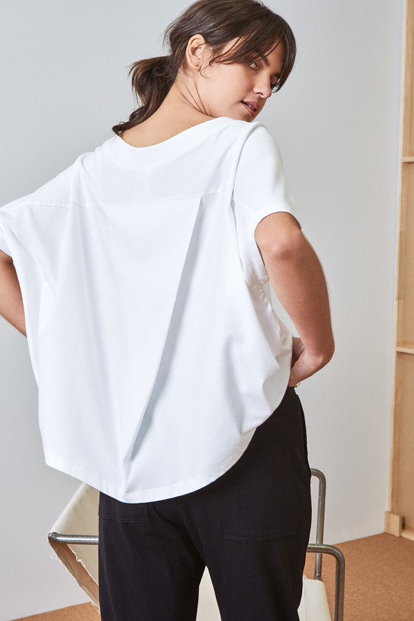 Kowtow Building Block Pleat Top