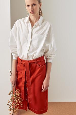 Kowtow Button Up Skirt