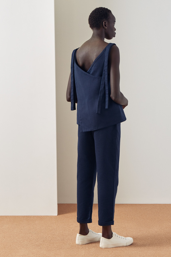 Kowtow Knotted Tie Top