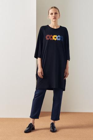 Kowtow Rainbow Tee Shirt Dress