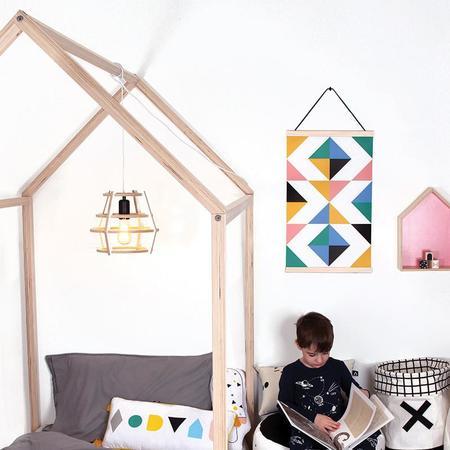 KIDS Gautier Studio Pom Pom House Bed Set - Single/Twin