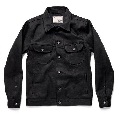 Taylor Stitch Kuroki Mills The Long Haul Jacket - Black Selvage