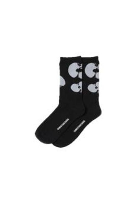Christian Dada Apple Jacquard Socks - Black