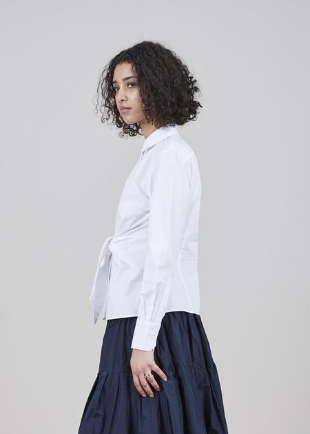 GRAMMAR NYC The Conjunction Shirt - White