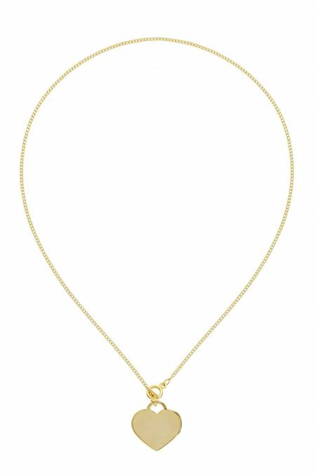 Five and Two Racquel Necklace - GOLD
