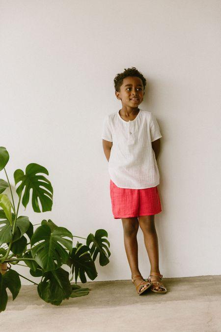 KIDS Boy+Girl Gym Short - Apple