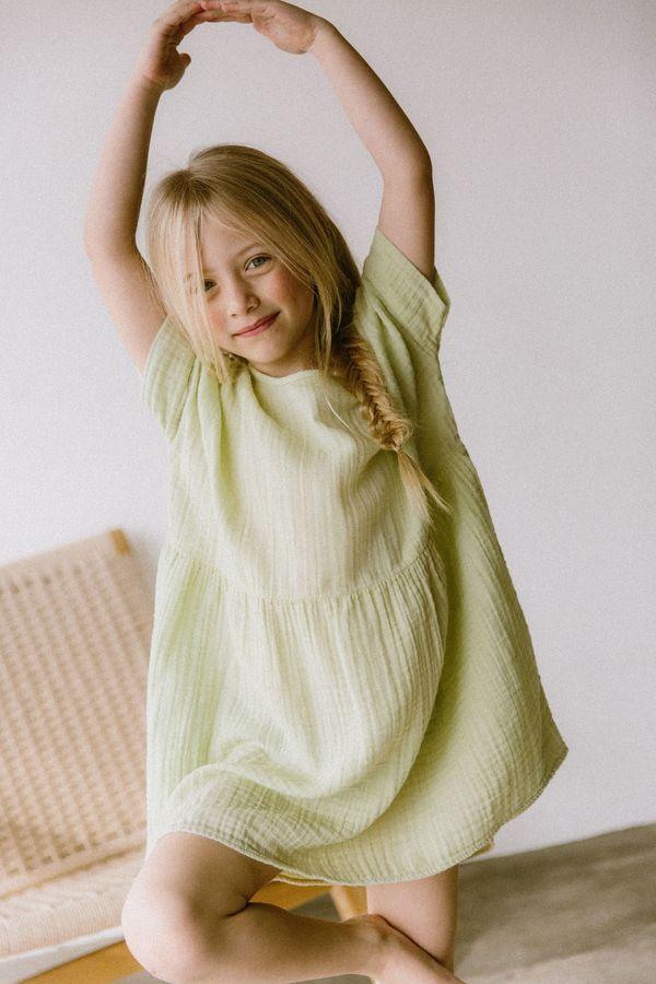 KIDS Boy+Girl Una Dress - Pistachio