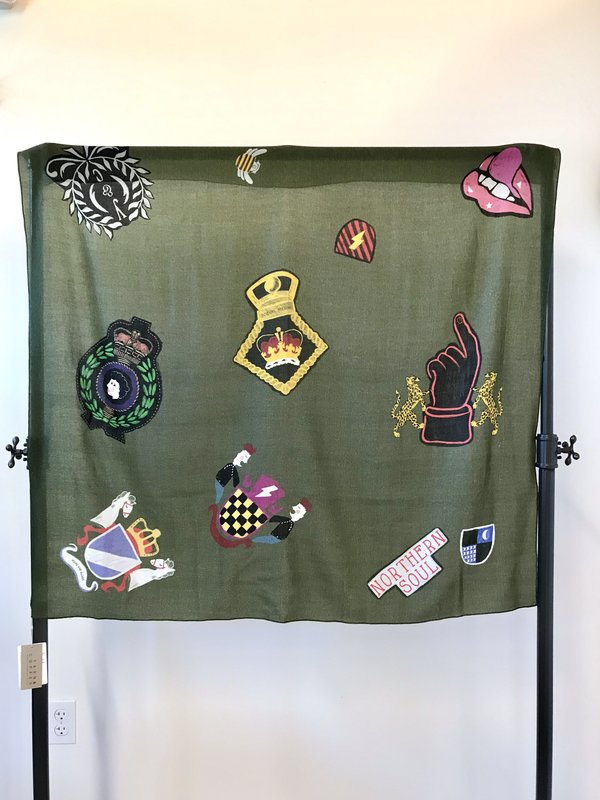 Yarn & Copper Hope and Glory scarf on Garmentory