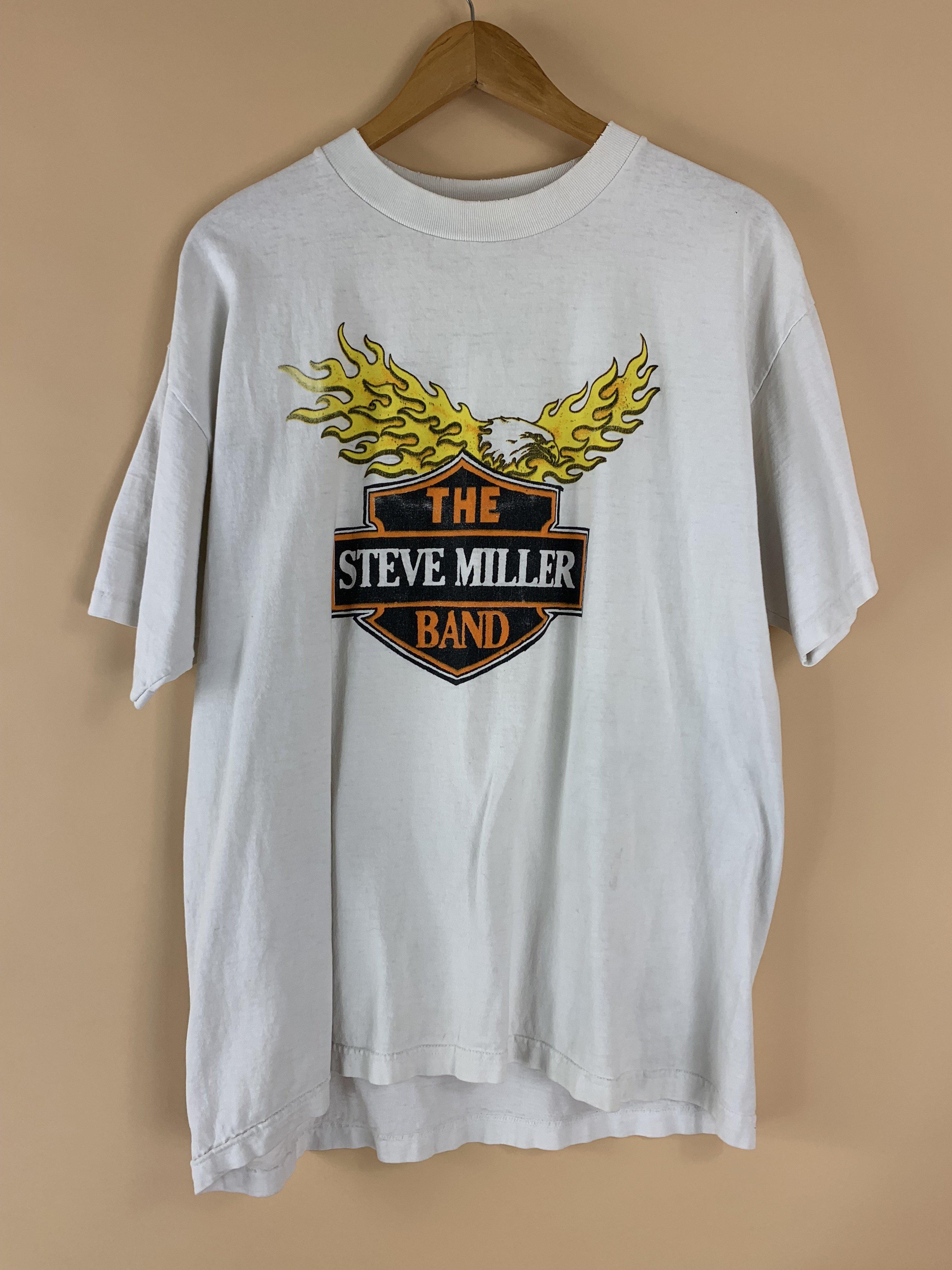 7d3eeab59 RABA MARFA VINTAGE 1997 THE STEVE MILLER BAND TEE | Garmentory