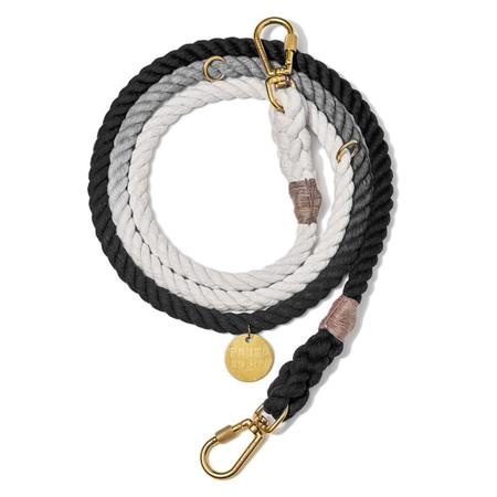 Found My Animal Ombre Adjustable Rope Leash - Black