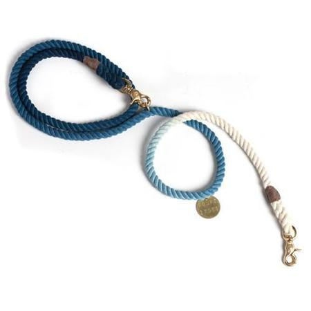 Found My Animal Ombre Adjustable Rope Leash - Blue