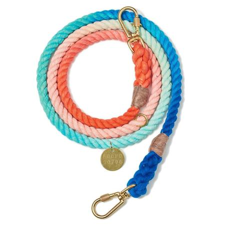Found My Animal Ombre Adjustable Rope Leash - Multi