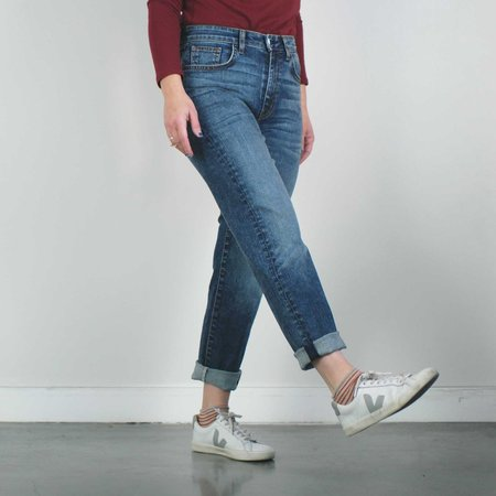 Father's Daughter LA Ally High Rise Tapered Jeans - Port
