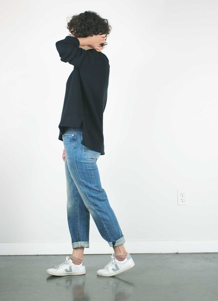 Father's Daughter LA Ally High Rise Tapered Jeans - Rise
