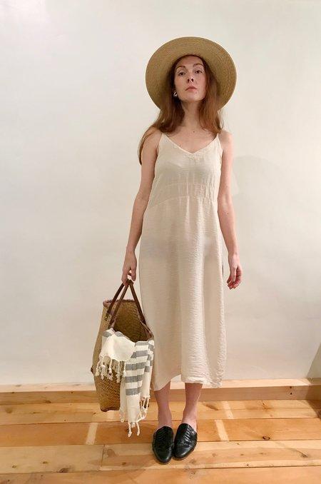 Lacausa Alma Slip Dress - Biscuit