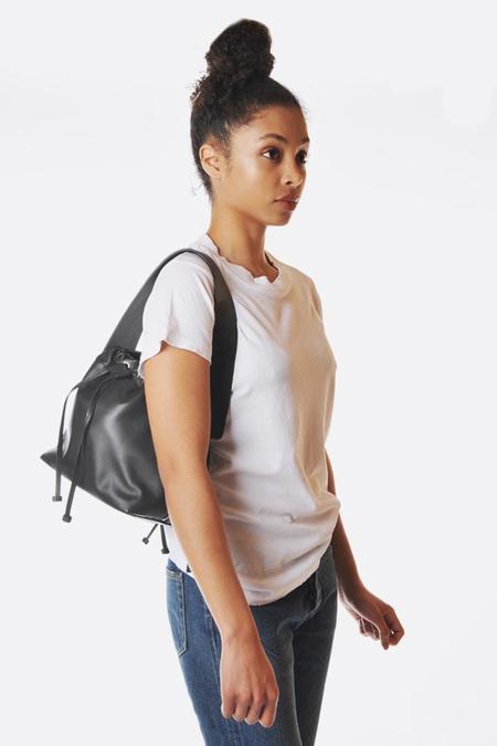 Bonastre Medium Lune Bag - Black