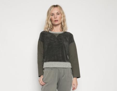 Christina Lehr Patch Isabel Sweatshirt - Charcoal