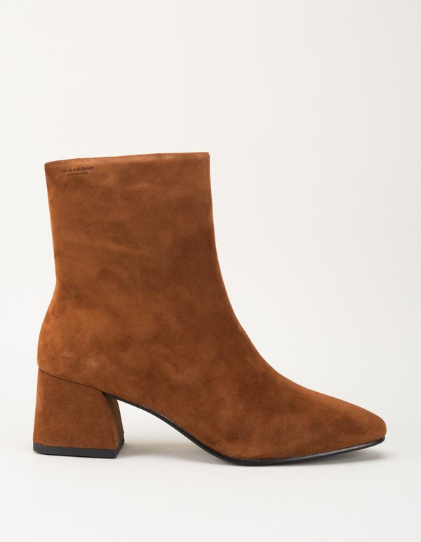 Vagabond alice suede boot - brandy