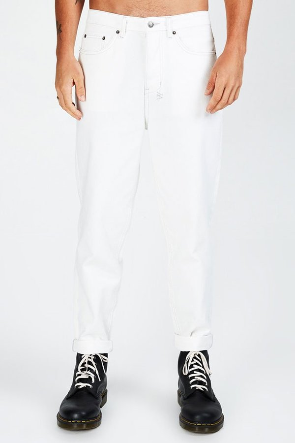 shop best sellers authentic quality classic styles Ksubi Bullet Chalk Denim - Off White on Garmentory