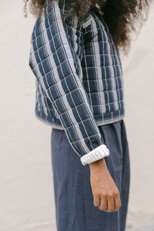 Kordal Reversible Quilted Pullover