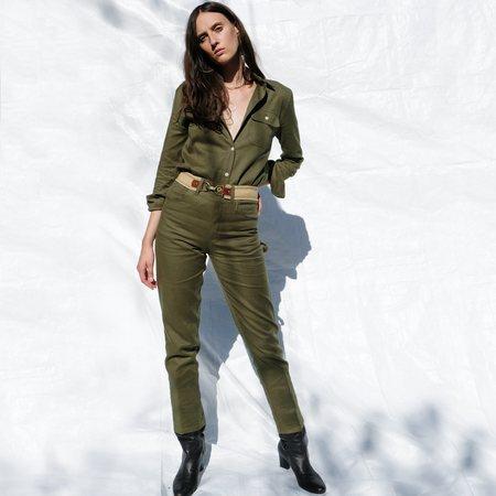 Roberta Paulina Pant - Mountain Green