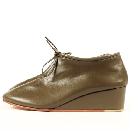 Martiniano Bootie Wedge - Olive