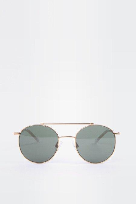 Kaibosh Metallicum P Sunglasses - gold/green