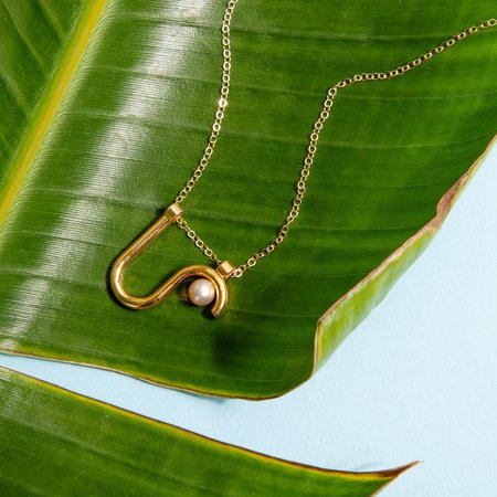 Metalepsis Arco Necklace - Gold