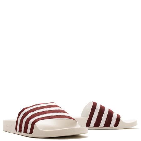 adidas Adilette - Collegiate Burgundy