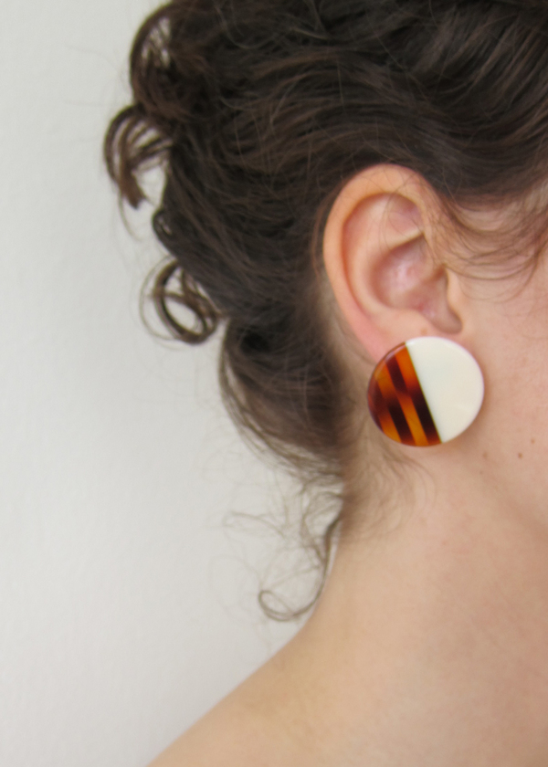 Vintage Collection Disc Earrings