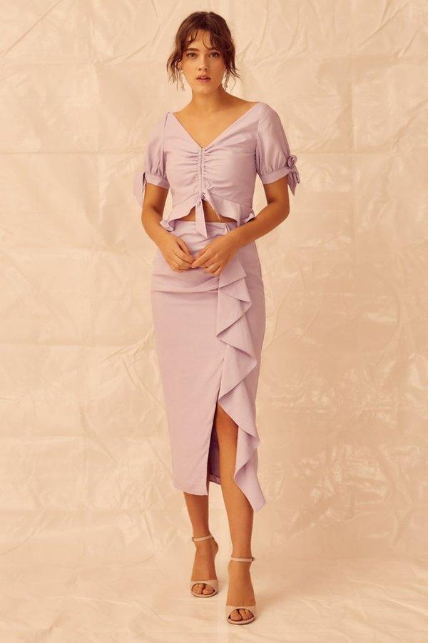 Keepsake Luminous Top - Lilac