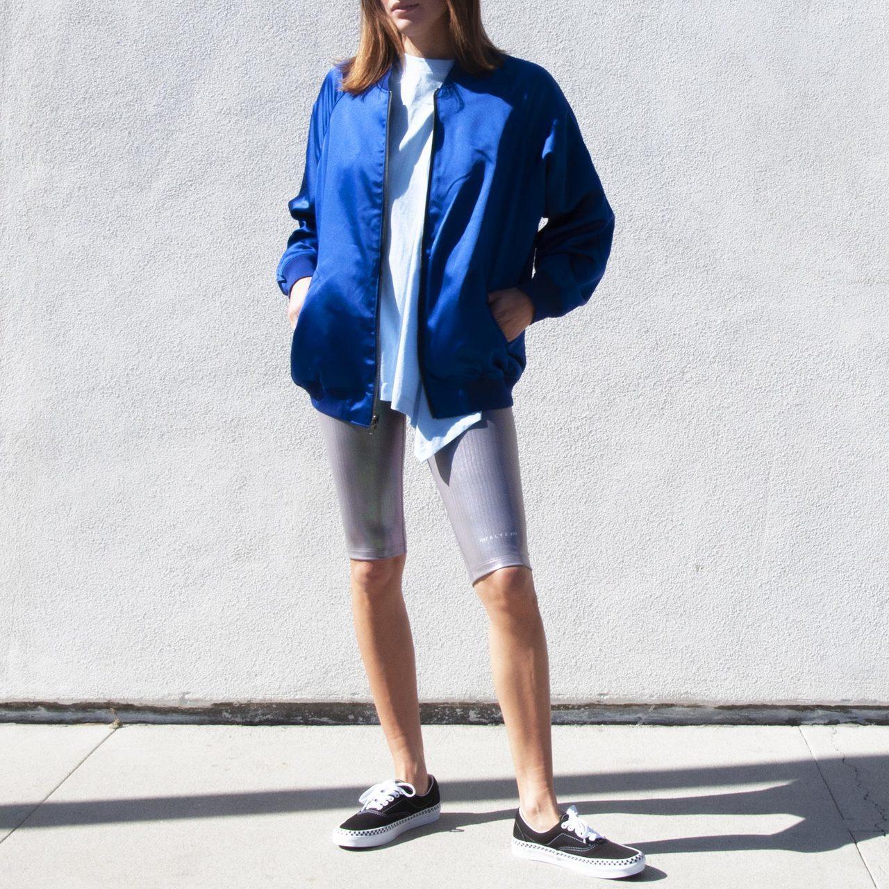 c8c59f7f044ae0 Alyx Nike x MMW Short Training Legging - Silver   Garmentory