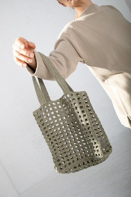 Lauren Manoogian Paper Net Bag - Herb