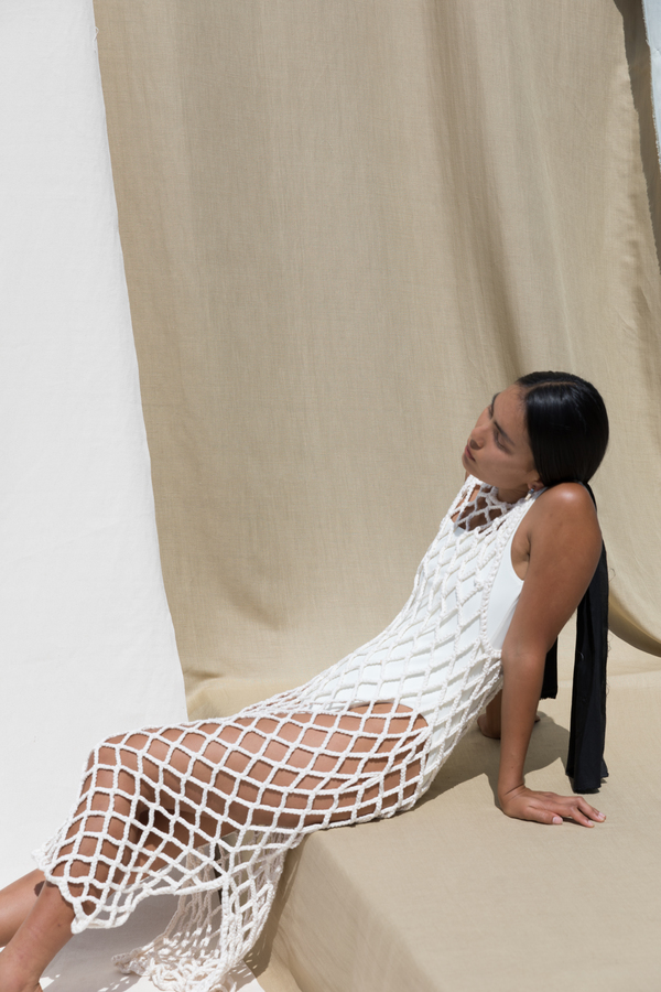Pari Desai Almora Crochet Dress
